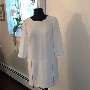 Ann Taylor- NWT - white dress size 0